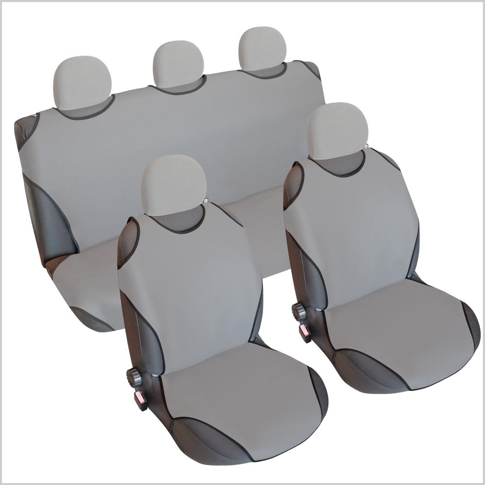CSC404S - Sitzbezug Set T-Shirt-Design Grau
