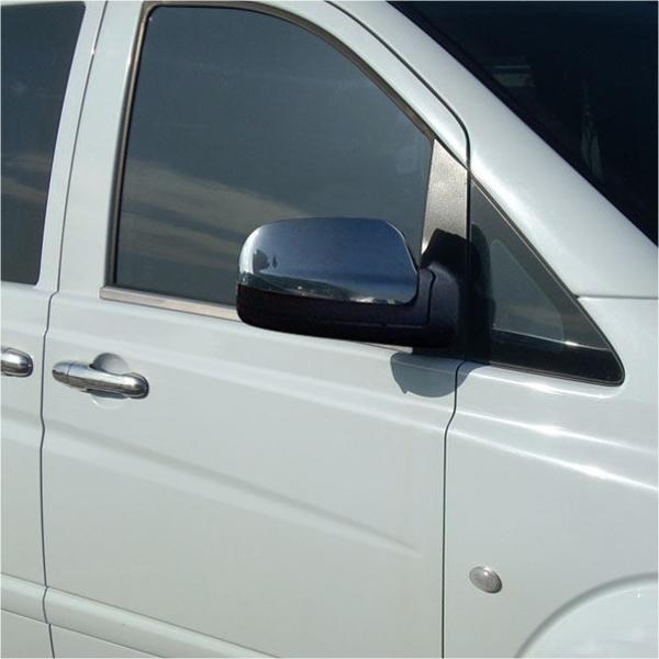 KS1006 - Zierleiste Fensterleiste Geeignet für Mercedes Vito W639 ab 2004-