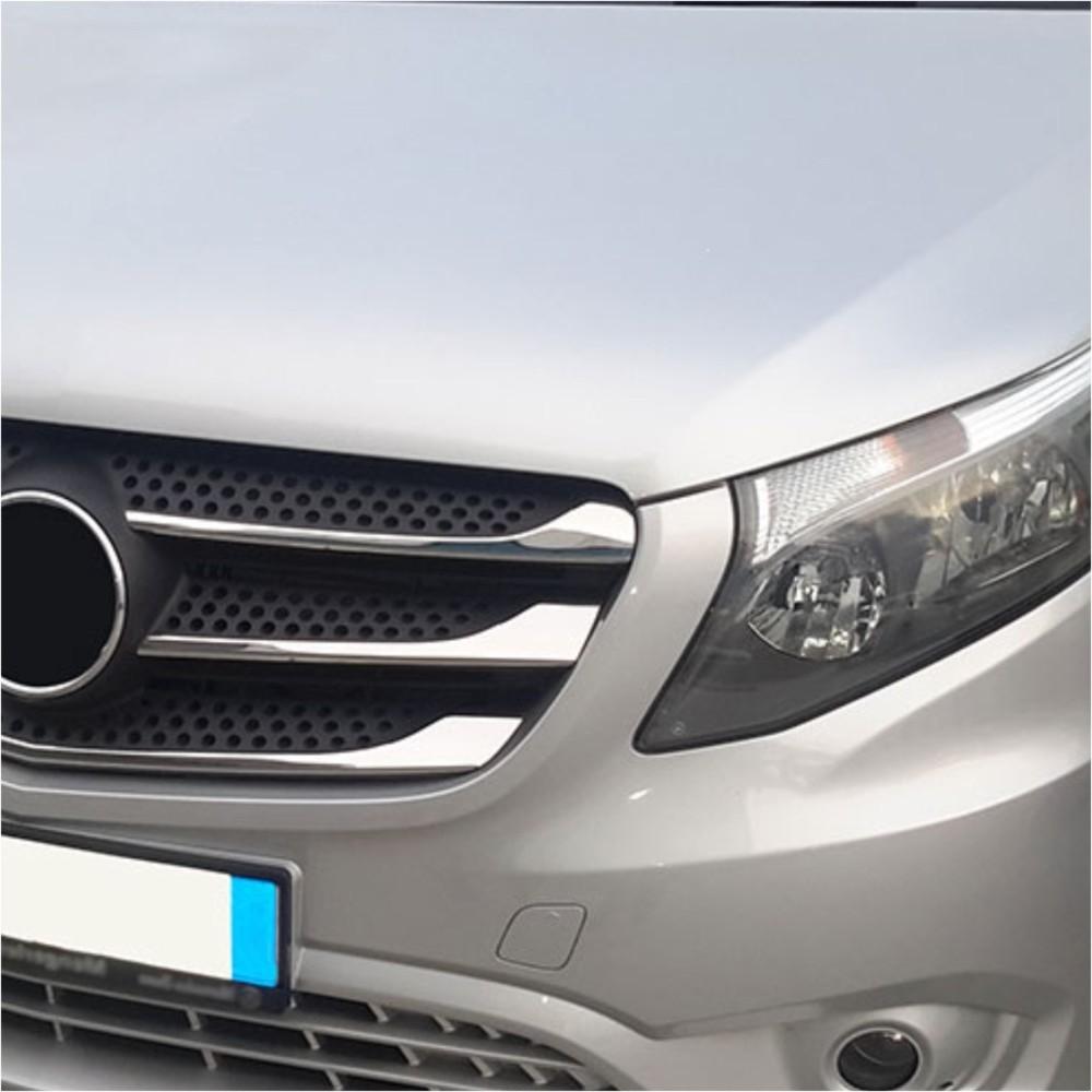 KS1293 - Kühlergrill Leiste Geeignet für Mercedes Vito ab 2015-