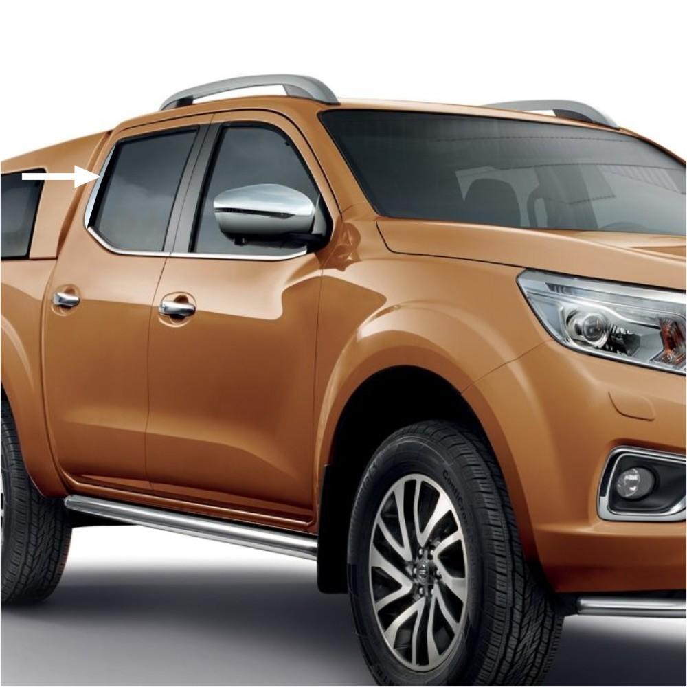 KS1300 - Zierleiste Fensterleiste Geeignet für Nissan Navara ab 2016-