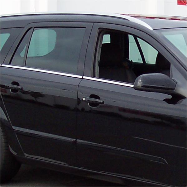 KS1050 - Zierleiste, Fensterleiste Geeignet für Opel Astra H Limousine ab 2004-