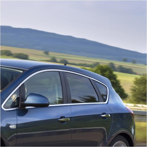 KS1063 - Zierleiste Fensterleiste Geeignet für Opel Astra J HB 2010-
