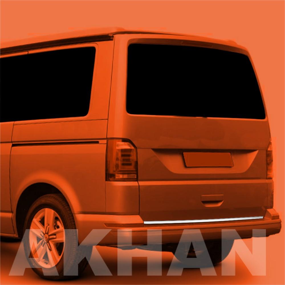 1A106 - Edelstahl Kofferraum Heckleiste geeignet für VW TRANSPORTER T6 ab 2015->