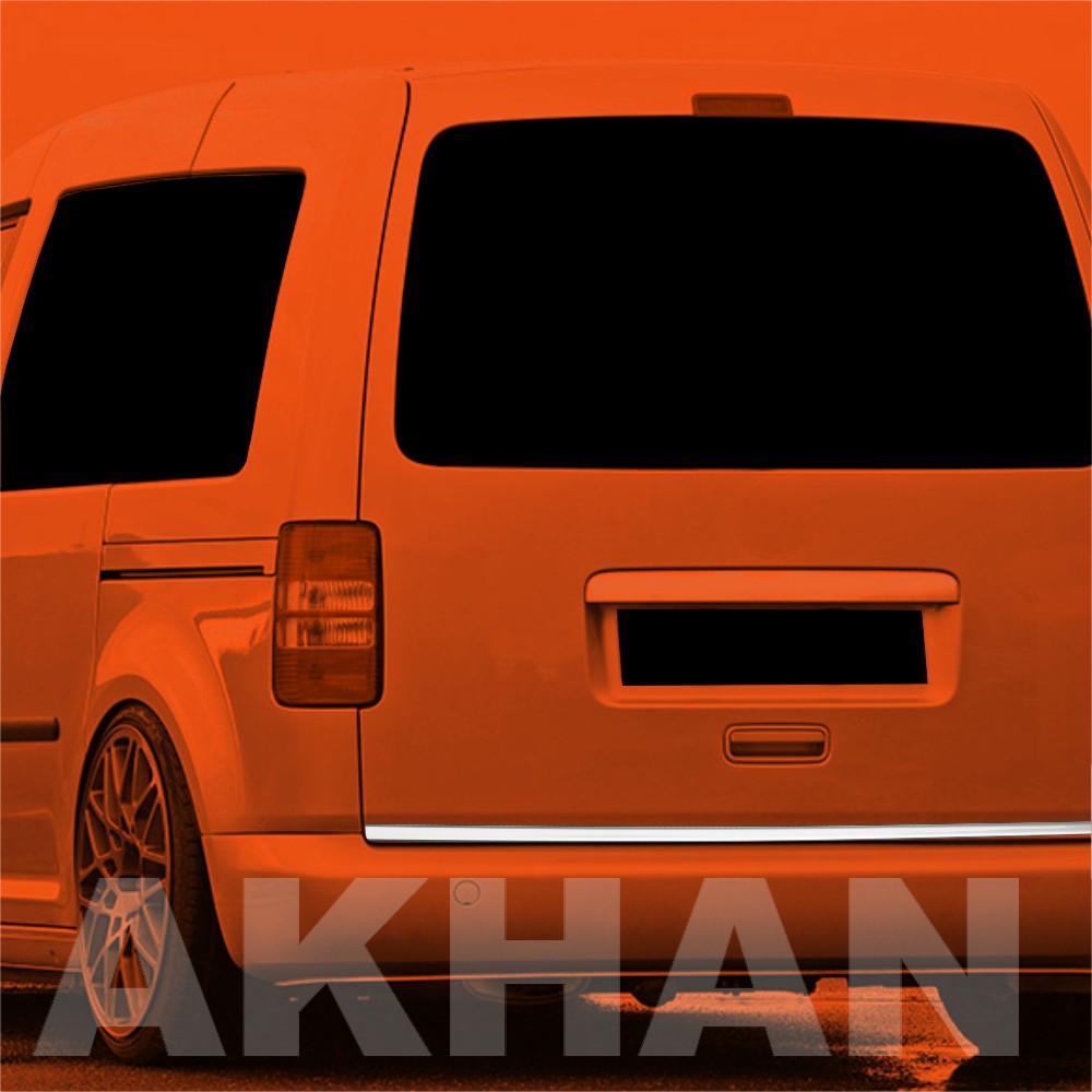 1A107 - Edelstahl Kofferraum Heckleiste geeignet für VW CADDY II + III