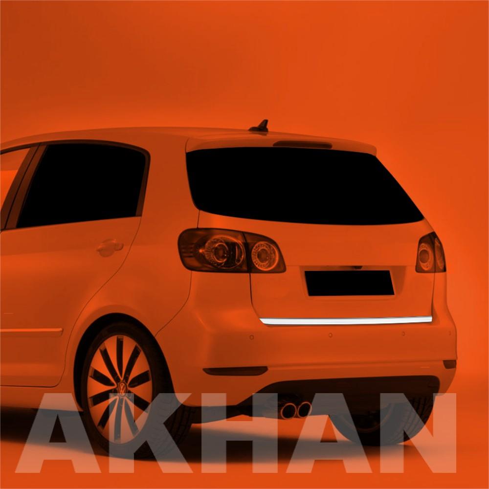 1A108 - Edelstahl Kofferraum Heckleiste geeignet für VW GOLF 6 PLUS