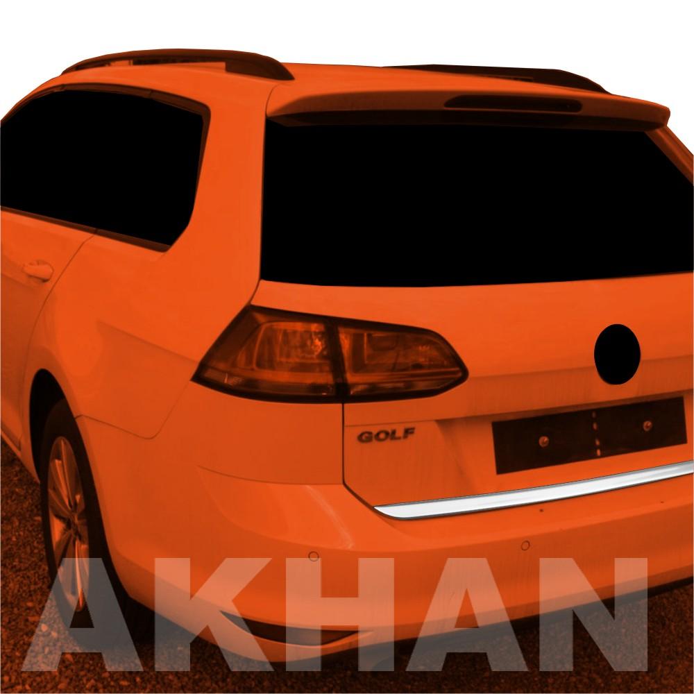 1A110 - Edelstahl Kofferraum Heckleiste geeignet für VW GOLF 7 Variant
