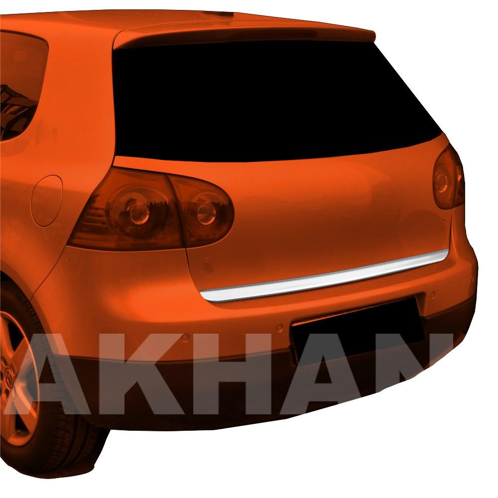1A111 - Edelstahl Kofferraum Heckleiste geeignet für VW GOLF 5 Limousine