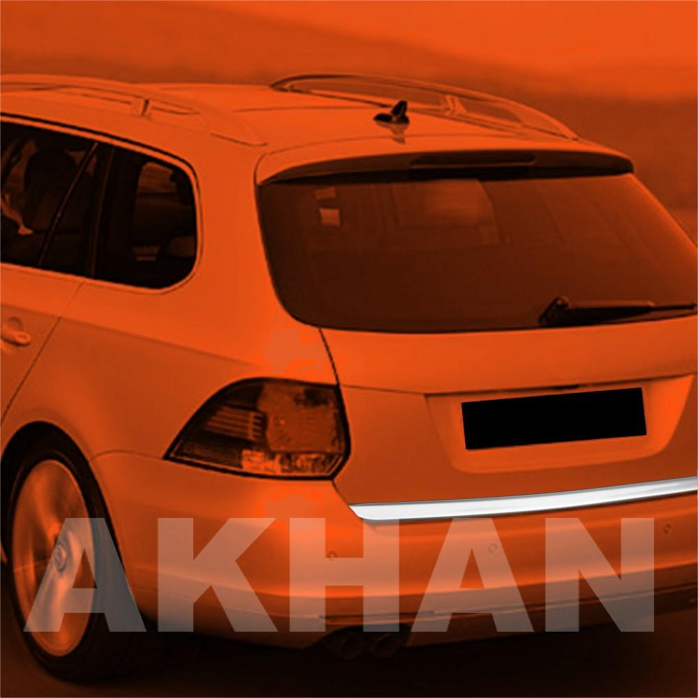 1A112 - Edelstahl Kofferraum Heckleiste geeignet für VW GOLF 6 Variant