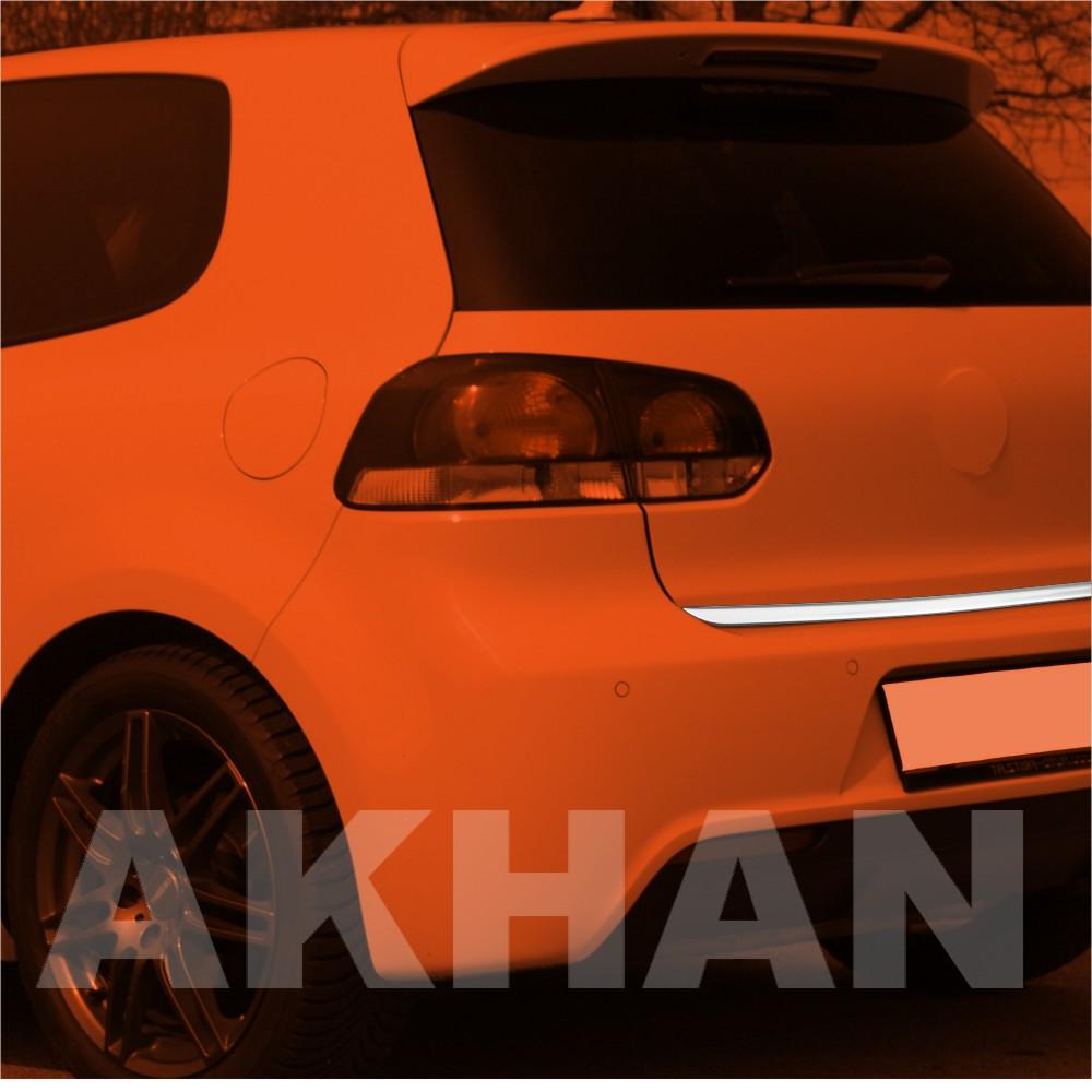 1A113 - Edelstahl Kofferraum Heckleiste geeignet für VW GOLF 6 Limousine