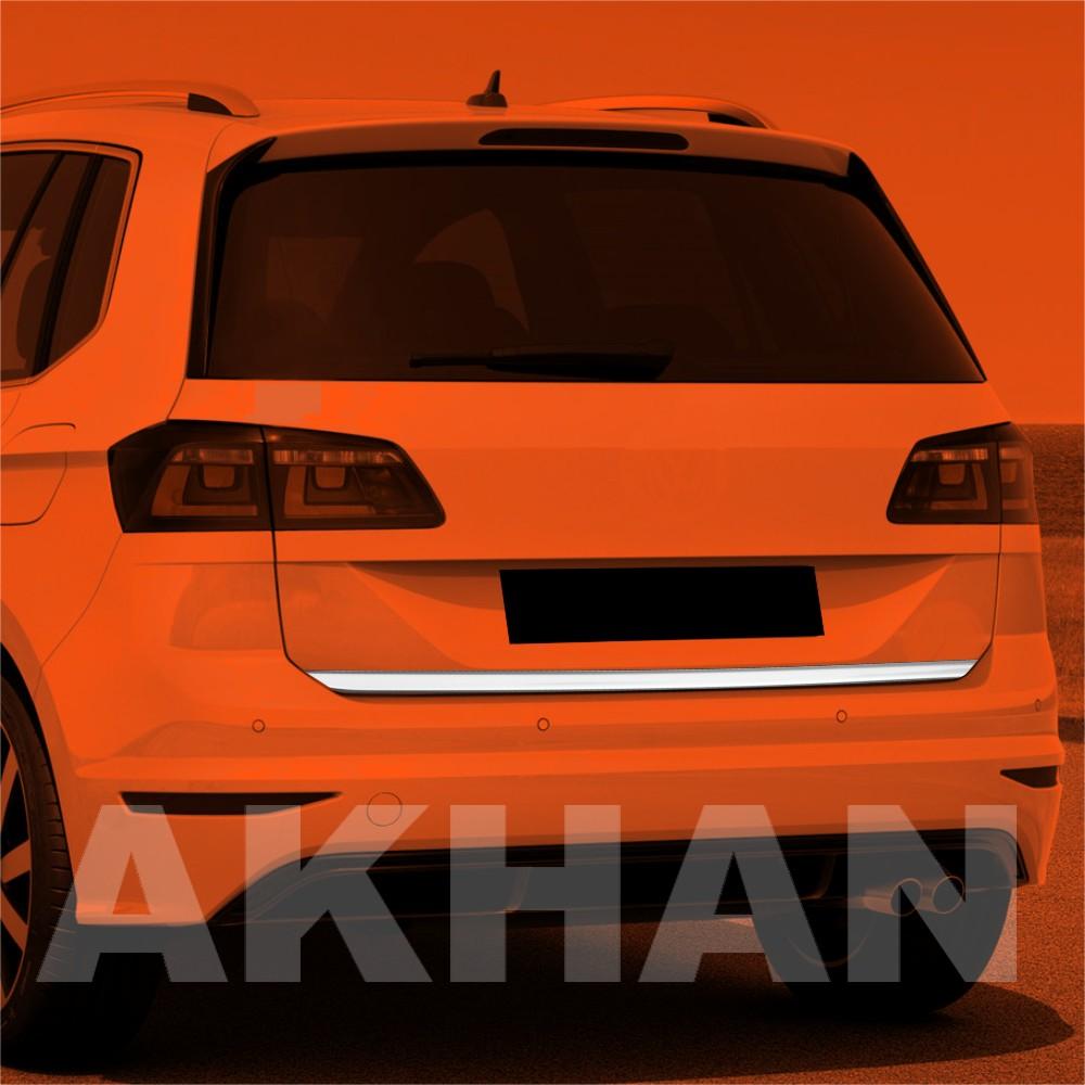 1A114 - Edelstahl Kofferraum Heckleiste geeignet für VW GOLF SPORTVAN