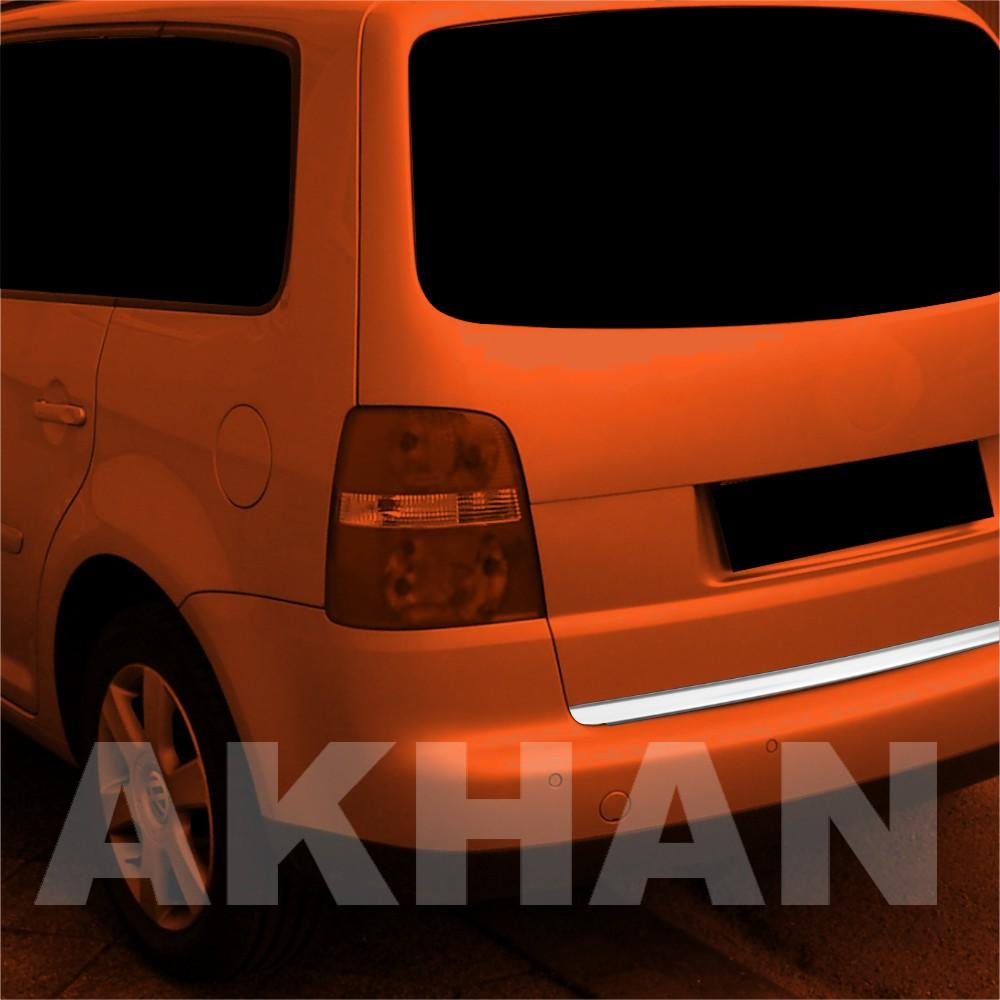 1A116 - Edelstahl Kofferraum Heckleiste geeignet für VW TOURAN 1+2 2003 bis 2010