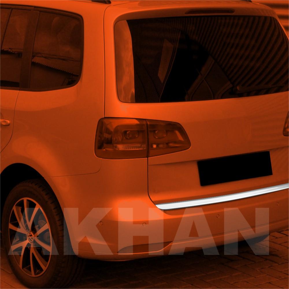 1A117 - Edelstahl Kofferraum Heckleiste geeignet für VW TOURAN III ab 2010->
