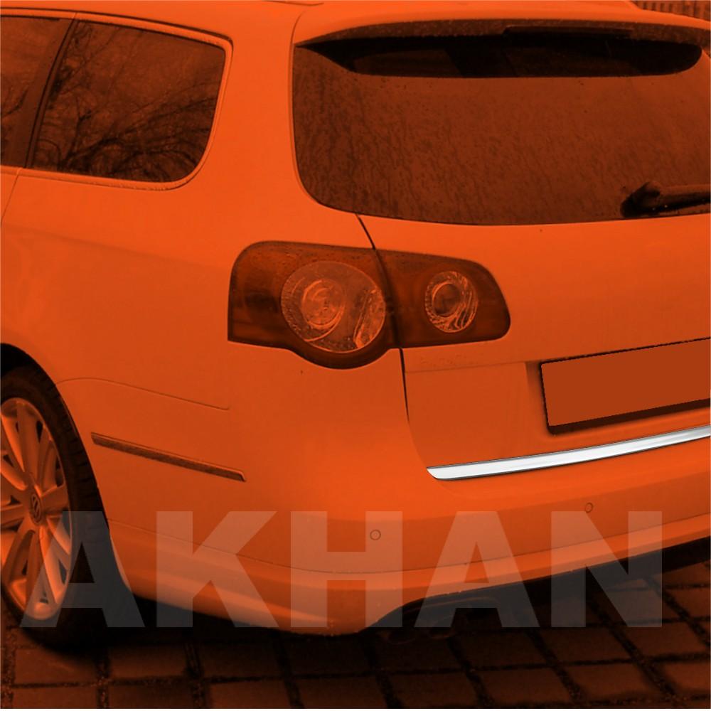 1A118 - Edelstahl Kofferraum Heckleiste geeignet für VW PASSAT B6 Variant