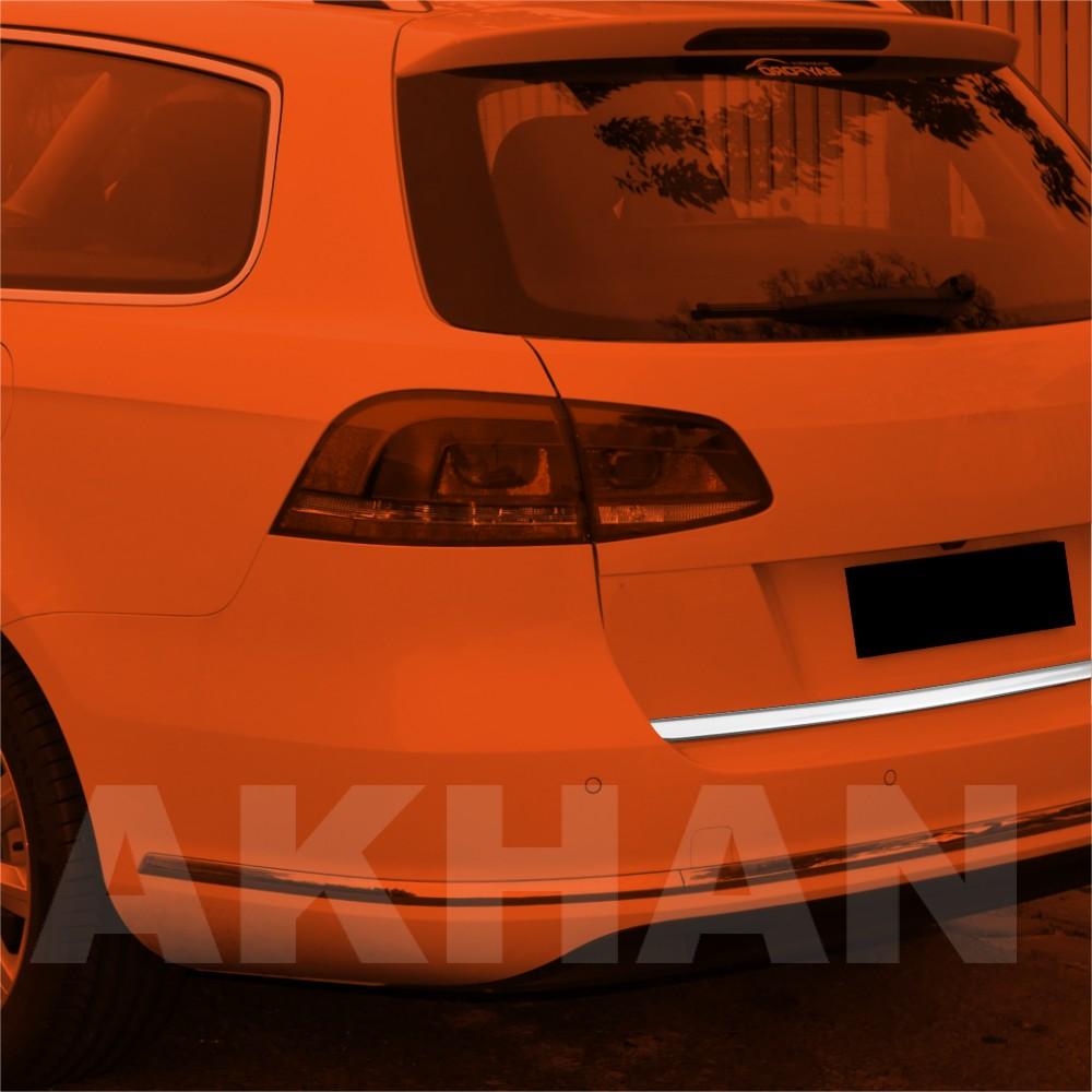 1A119 - Edelstahl Kofferraum Heckleiste geeignet für VW PASSAT B7 Variant