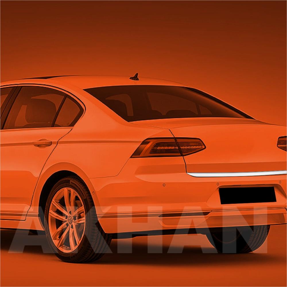 1A120 - Edelstahl Kofferraum Heckleiste geeignet für VW PASSAT B8 Limousine