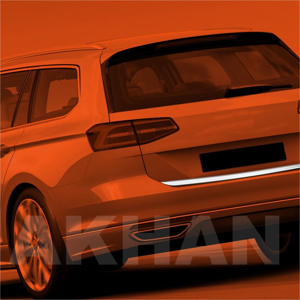 1A121 - Edelstahl Kofferraum Heckleiste geeignet für VW PASSAT B8 Variant