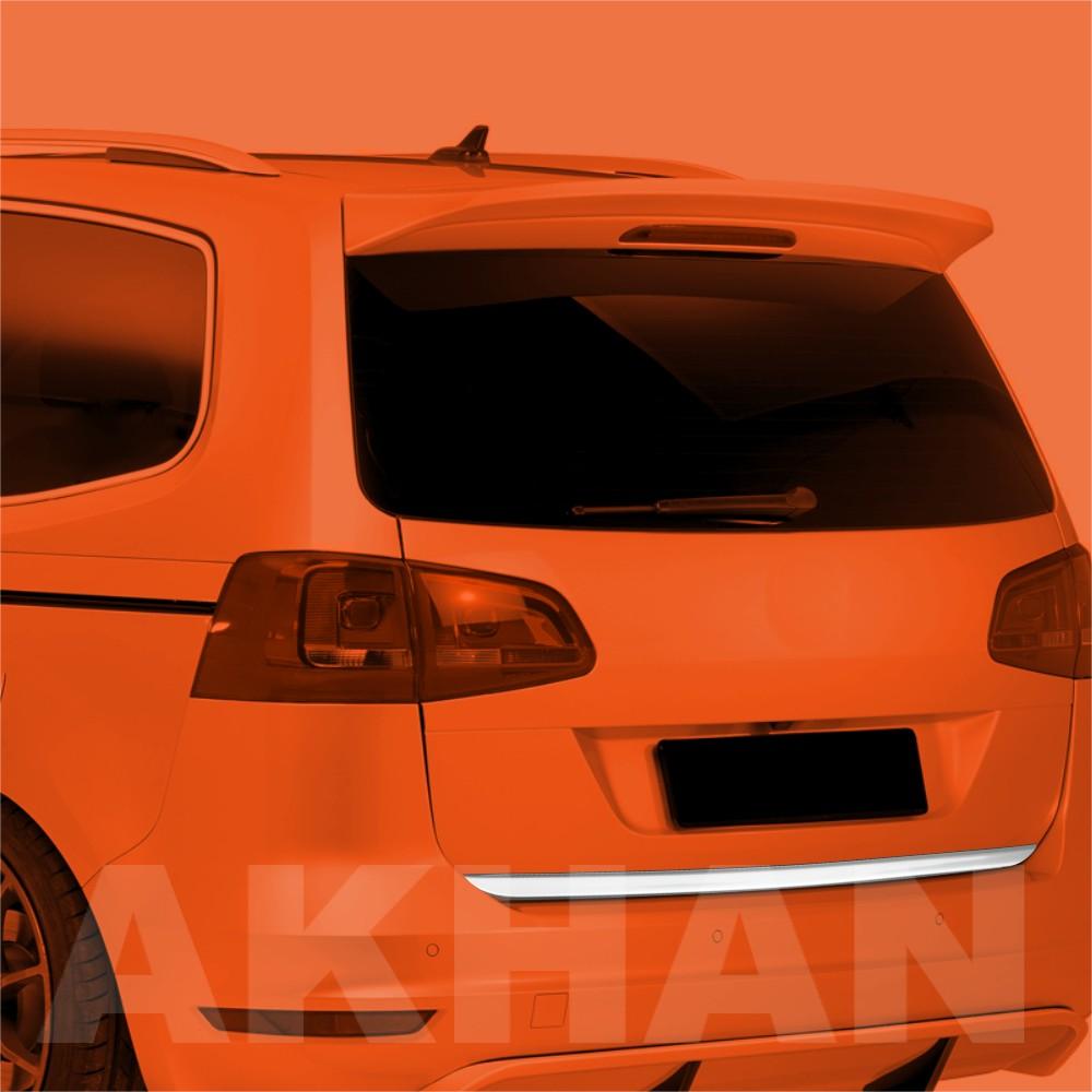 1A122 - Edelstahl Kofferraum Heckleiste geeignet für VW SHARAN II bis 2012
