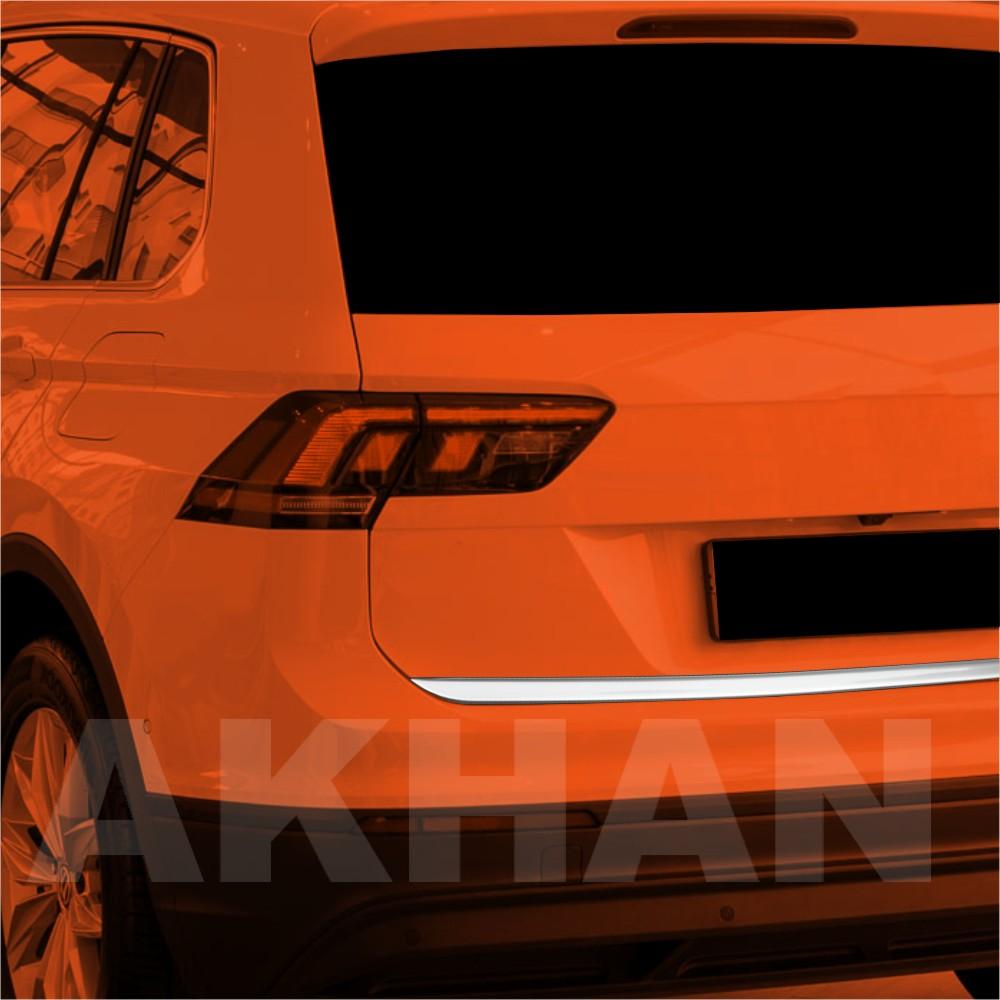 1A126 - Edelstahl Kofferraum Heckleiste geeignet für VW TIGUAN ab 2016->