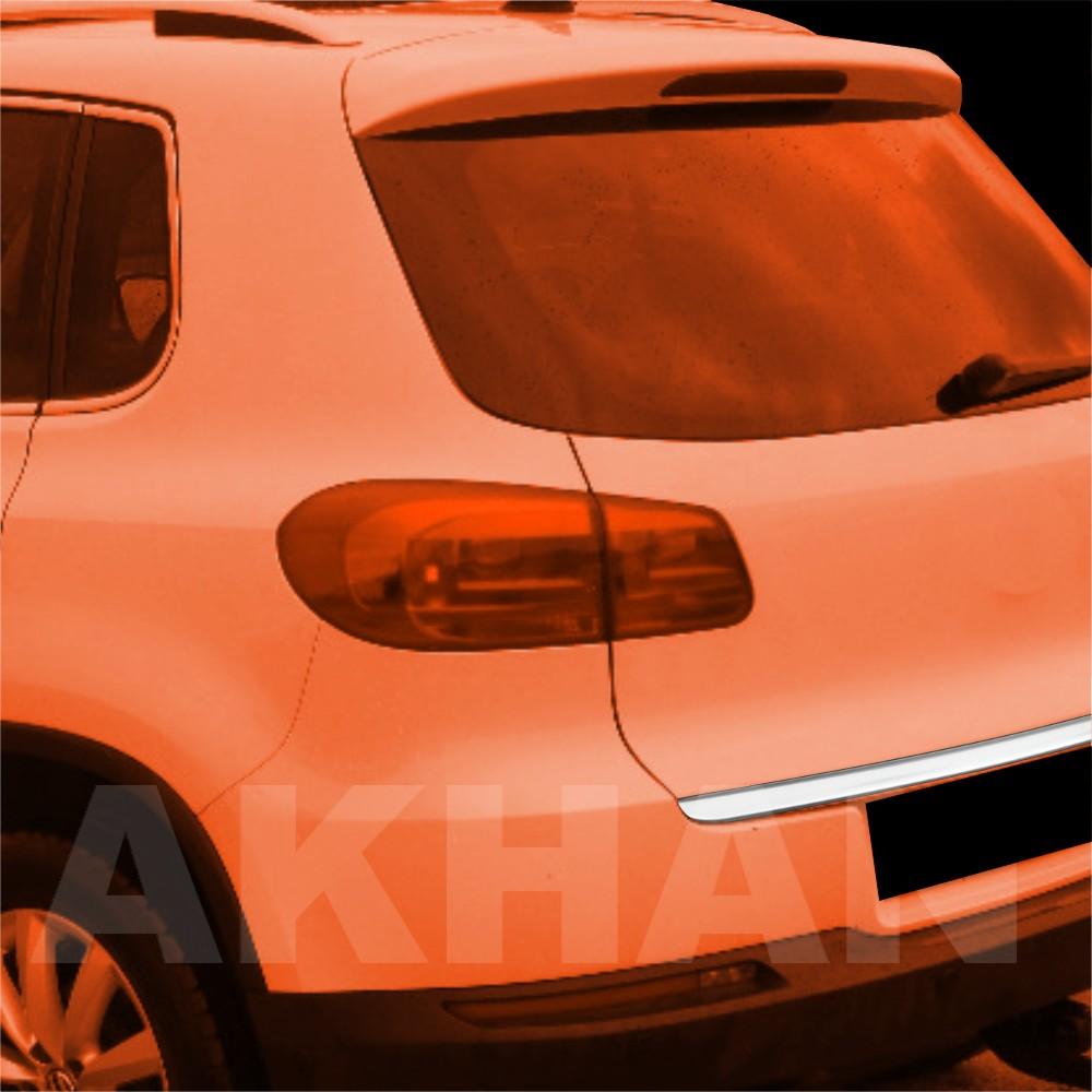 1A127 - Edelstahl Kofferraum Heckleiste geeignet für VW TIGUAN bis 12/2015