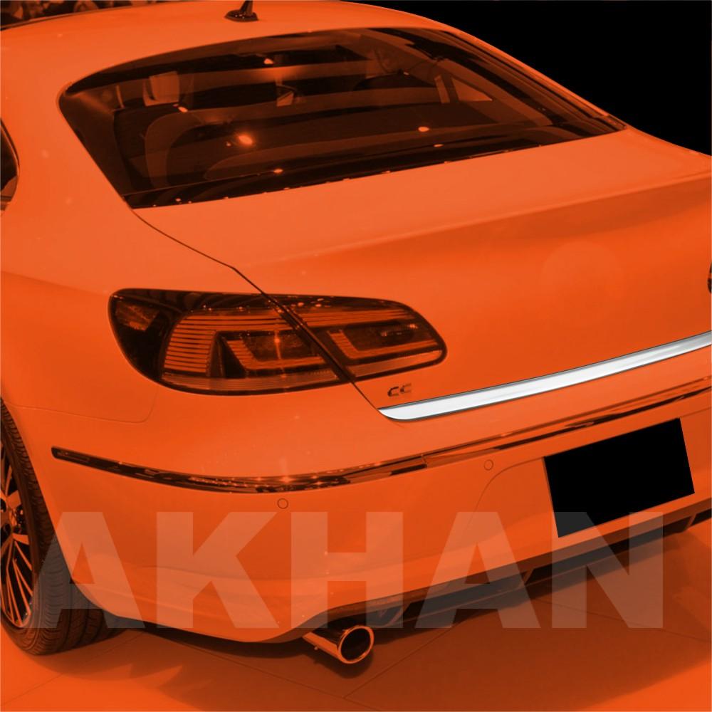 1A129 - Edelstahl Kofferraum Heckleiste geeignet für VW PASSAT CC ab 2012->