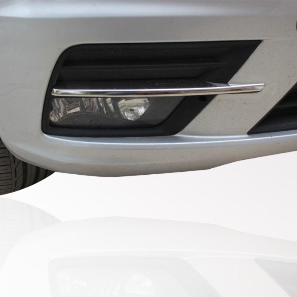 KS1322 - Chrom Leiste für Nebelscheinwerfer Geeignet für VW Caddy ab 2015-