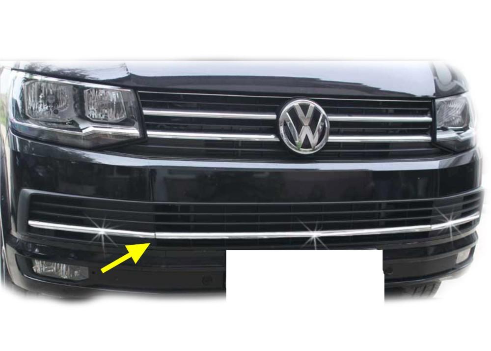 KS1336 - Chrom Grillleiste Stoßstange Geeignet für VW T6 Caravelle ab 2015-
