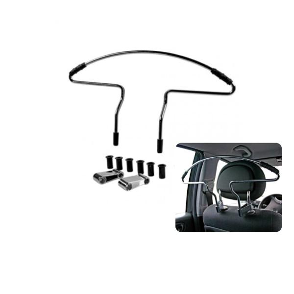 60398 - Kleiderbügel hochwertige Metalllegierung mit Anti-Rutsch-Pads