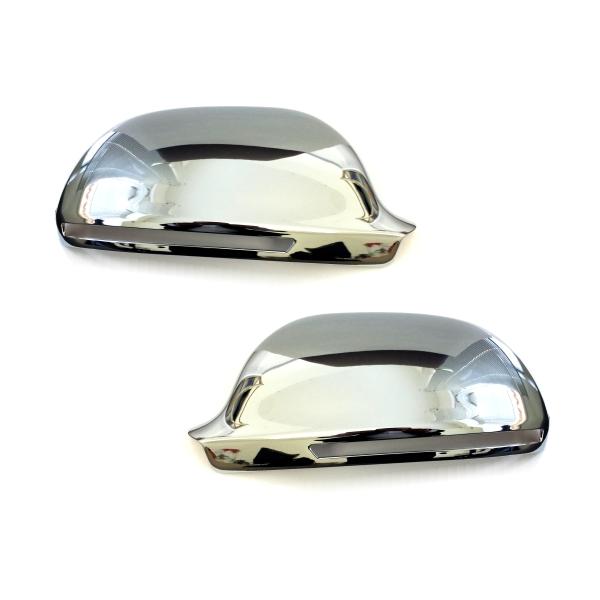 CSK03 - Chrom Spiegelkappen Spiegelabdeckung Geeignet für Audi A3 / S3 ab 2008-