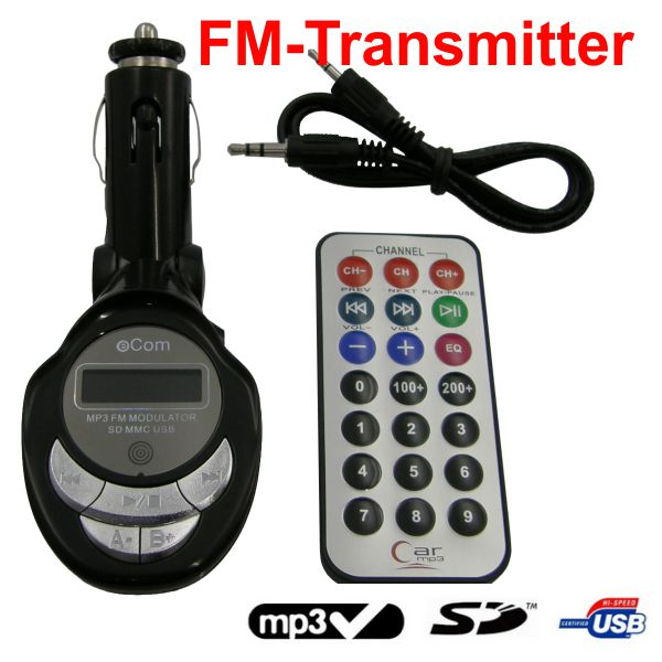 FM01 - FM Transmitter Modulator SD, MMC USB MP3