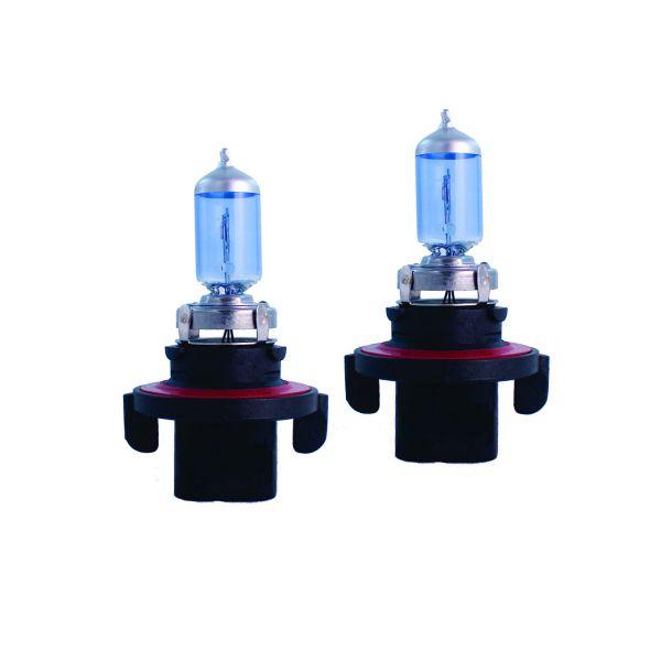 H1355W - Xenon Look, Halogen Lampen Set, Xenon Weiss, H13 12V 60, 55W