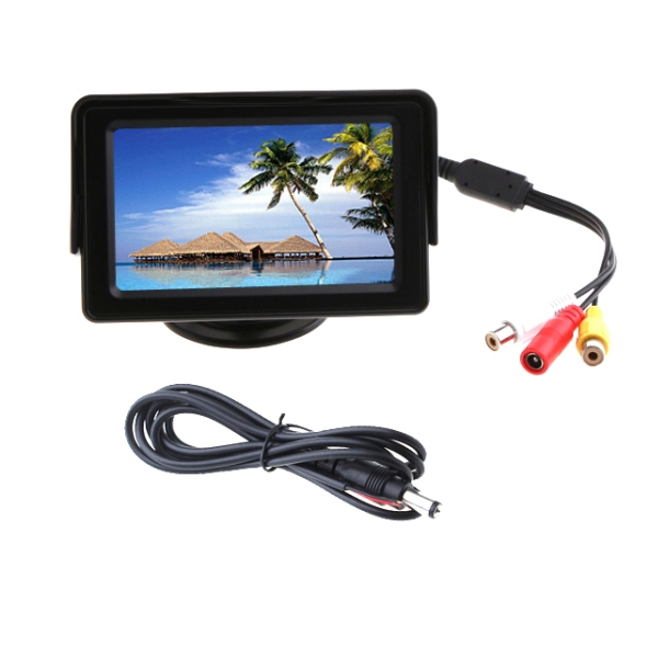 M02 - TFT Farb Monitor 4,3 Zoll für VCD DVD GPS Rückfahrkamera