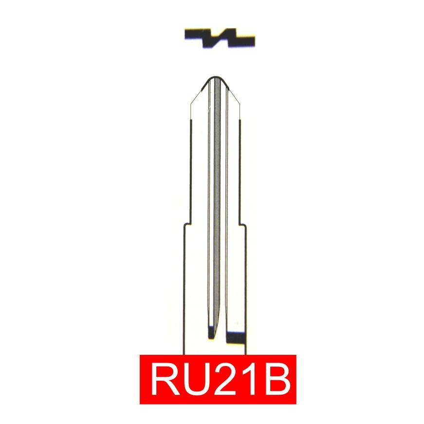 RU21B - Schlüsselrohling, Schlüsselbart